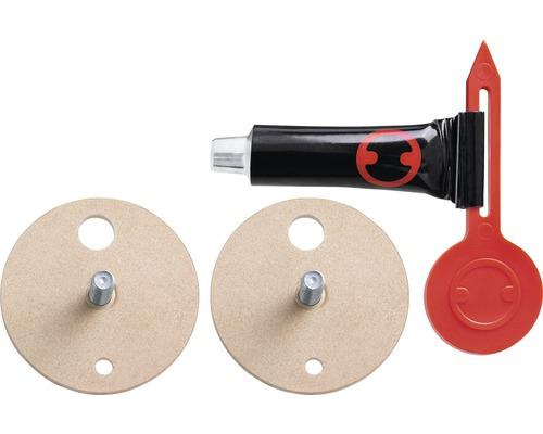 Kit d''adaptateur de rechange tesa® BK43-2 avec 2 adaptateurs