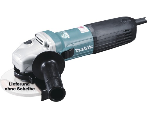 Meuleuse d''angle Makita GA5040CZ1 125mm, 1400W sans flasque