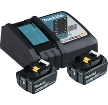 Starter Set Makita DC18RC Power Source Kit Li 18V, 2x 5,0 Ah Akkus + Ladegerät-thumb-0