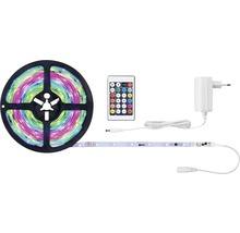 Kit de bande SimpLED Motion RGB prêt à l''emploi 5,0 m 10W 325 lm changement de couleur RGB + télécommande 150 LED revêtu 12V-thumb-0