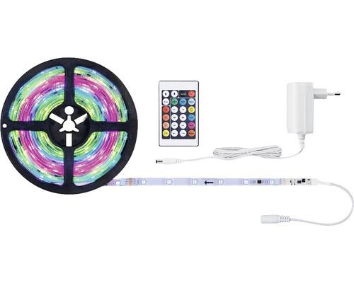 Kit de bande SimpLED Motion RGB prêt à l''emploi 5,0 m 10W 325 lm changement de couleur RGB + télécommande 150 LED revêtu 12V