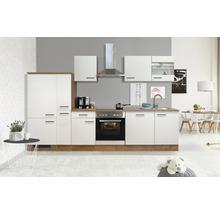 Küchenzeile Flex Well Vintea 310 cm Magnolia Matt/Lancelot Oak 00011848-thumb-0