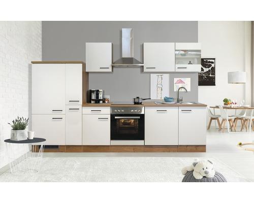 Cuisine complète Flex Well Vintea 310 cm magnolia mat/Lancelot Oak 00011848