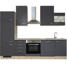 Küchenzeile Flex Well Tiago 280 cm Basaltgrau/San Remo Eiche hell 00011841-thumb-8