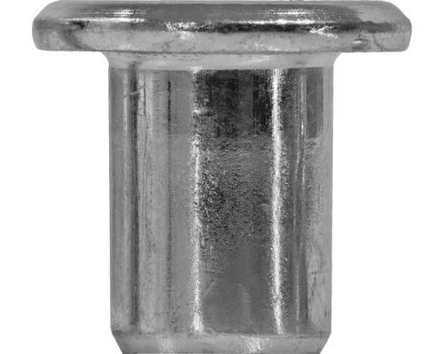 Ecrou à manchon M6 tête cylindrique galvanisé 100 unités