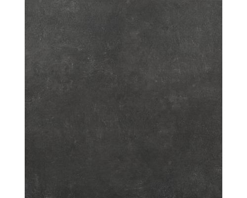 Feinsteinzeug Wand- und Bodenfliese Hometec black matt 100 x 100 cm
