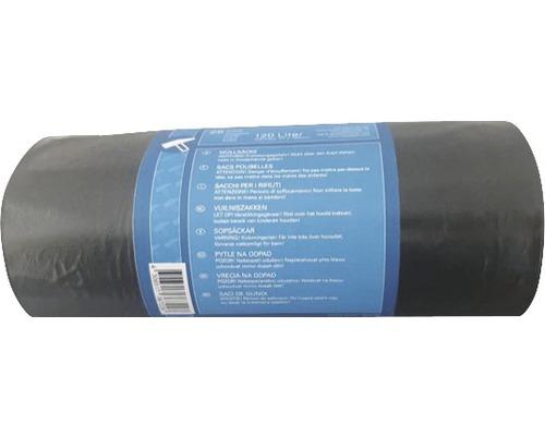 Sac poubelle construction noir 90-120 l, pack de 25