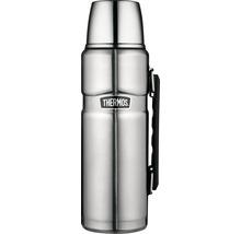 Bouteille isolante THERMOS, acier inoxydable dépoli 1,2 l, fermeture rotative, 12 heures de chaleur, 24 heures de fraîcheur, sans BPA-thumb-0
