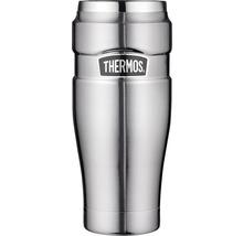 Tasse THERMOS, acier inoxydable dépoli 0,47 l, 7 heures de chaleur, 18 heures de fraîcheur, sans BPA-thumb-0