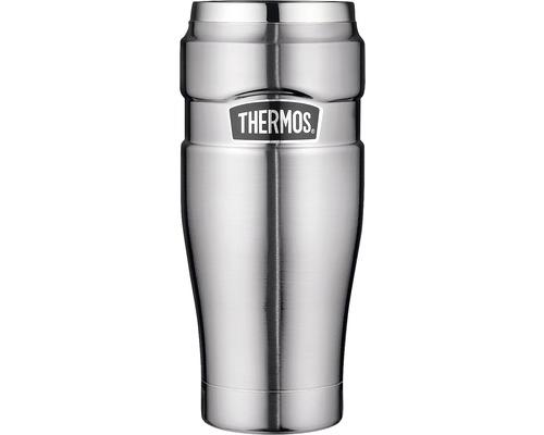 Tasse THERMOS, acier inoxydable dépoli 0,47 l, 7 heures de chaleur, 18 heures de fraîcheur, sans BPA-0