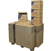 Palette de boîtes d''archives 400x320x300 mm 38 L, 200 pièces-thumb-0