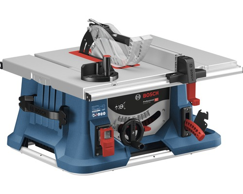 Scie à table Bosch Professional GTS 635-216 avec lame de scie (Optiline Wood, 216 x 30 x 1,6 mm, 22 dents)