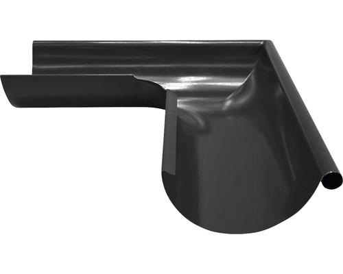 Precit Aussenwinkel 90° anthracite grey RAL 7016 NW 125mm