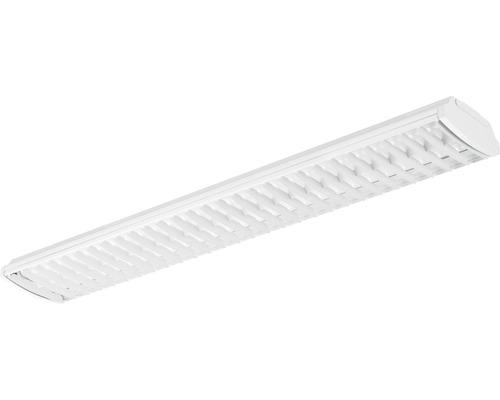 Lampe à structure tramée LED T8 2xG13/2x27W1900 lm4000 K blanc neutre L 1500 mm blanc