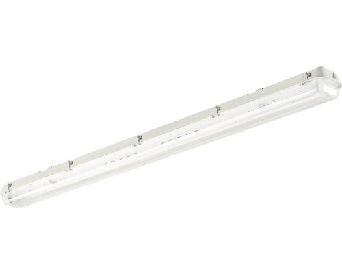 Éclairage LED pour pièces humides IP65 à 2ampoules L1200mm Waterproof boîtier vide