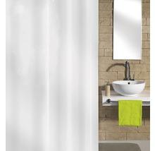 Rideau de douche Kleine Wolke Hool-On blanc textile 180x200cm-thumb-0