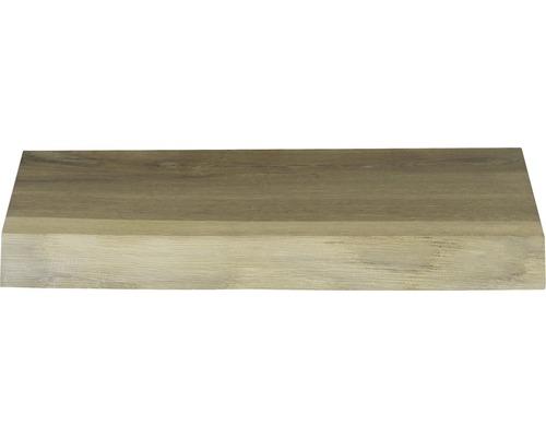 Ablage 40x25 cm Eiche massiv matt ohne Ausschnitt