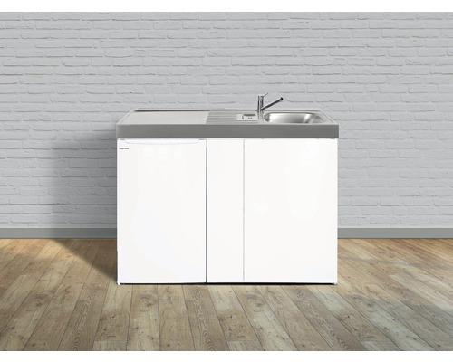Mini-cuisine stengel Easyline ME100, largeur 100 cm, bac, blanc brillant 1410000005300