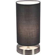 Lampe de table 1 ampoule HxØ 255/120 mm Vilna gris/chrome