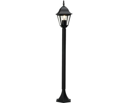 Lampadaire extérieur IP44 1 ampoule hxlxp 1000x170x148 mm Nissi noir métal