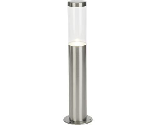 Borne extérieure LED IP44 4W 345 lm 4000 K blanc neutre hxØ 400x100 mm Bryn acier inoxydable brossé métal