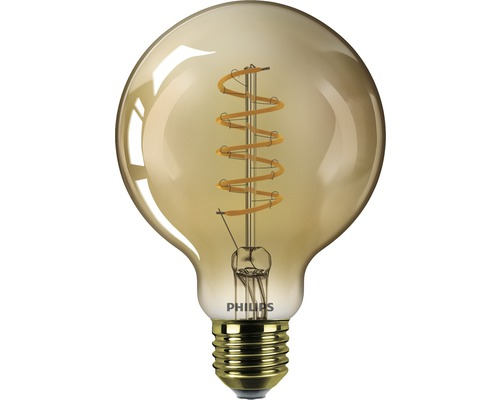 Ampoule globe LED à intensité lumineuse variable G93 or E27/5,5W(25W) 250 lm 2000 K blanc chaud