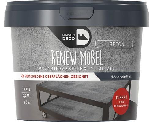 Peinture à effets pour meubles mate Maison Deco Renew, aspect béton, 375ml