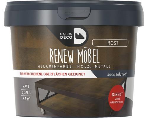 Peinture à effets pour meubles mate Maison Deco Renew, aspect rouille, 375ml