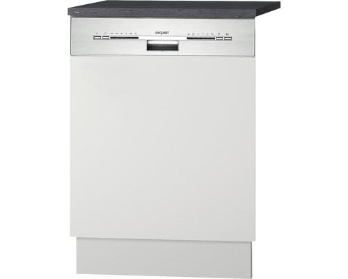 Façade pour lave-vaisselle Lagos largeur 59,60 cm blanc brillant-0
