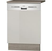 Façade pour lave-vaisselle Arta largeur 59,60 cm beige-thumb-0