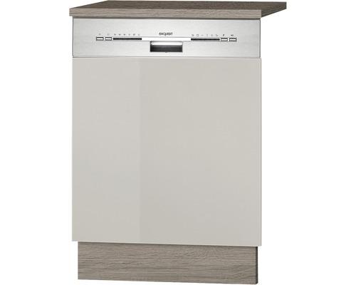 Façade pour lave-vaisselle Arta largeur 59,60 cm beige-0
