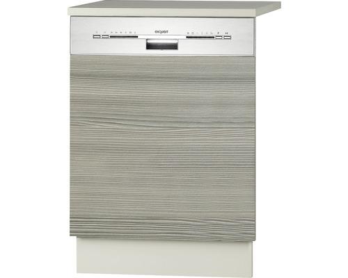 Façade pour lave-vaisselle Vigo largeur 59,60 cm Pin-Fantaisie nougat