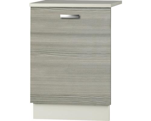 Façade pour lave-vaisselle Vigo largeur 59,60 cm Pin-Fantaisie nougat-0