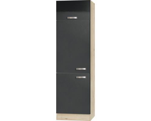 Armoire haute Padua largeur 60 cm anthracite-0