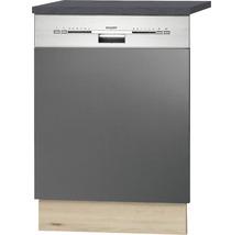 Façade pour lave-vaisselle Udine largeur 59,60 cm anthracite-thumb-0