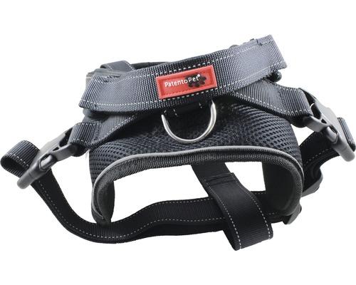 Harnais jockey avec laisse longue intégrée XL 71-96cm noir