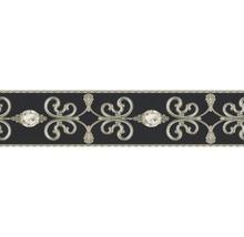 Frise autocollante vinyle ornement noir 5m x 15cm-thumb-0