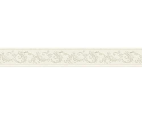 Frise vinyle autocollante Ornement crème 5m x 8cm