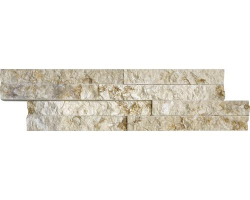 Pierre de parement Limestone Gold beige Z40/10 10x40cm