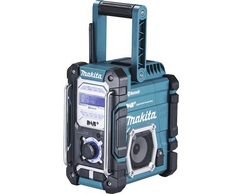 Radio de chantier sans fil Makita DMR112 7,2 V - 18 V avec DAB+