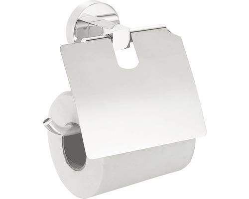 Support pour papier toilette REIKA Nagoya avec couvercle chrome