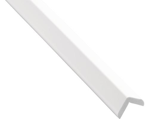 25x20mm Weiss Winkelleiste PVC Winkelprofil Kunststoffwinkelprofil Kunststoff-Profil 1m DQ-PP