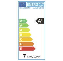 Ampoule LED à intensité lumineuse variable E27/7W(60W) 806 lm 4000 K blanc neutre A60 mat > 90 CRI (Ra)-thumb-1