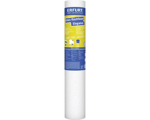 Papier ingrain intisse Erfurt Elegance blanc 15x0,53 m