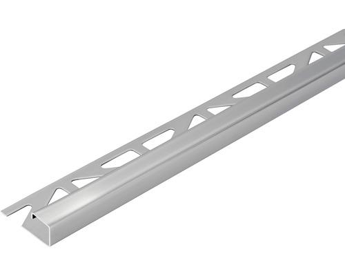 Profilé de finition Dural Squareline DPSE 100 10 mm longueur 250 cm acier inoxydable-0