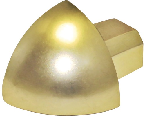 Angle extérieur Durondell aluminium anodisé Gold Y 2 pièces-0