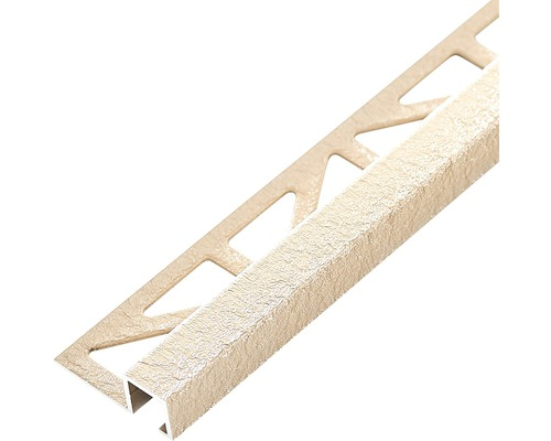 Profilé de finition Dural Squareline 11mm longueur 250cm aluminium beige-0