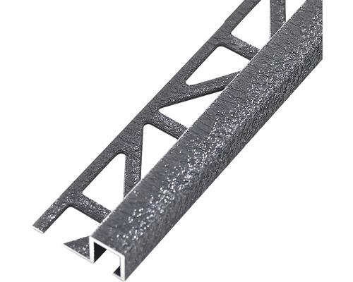 Profilé de finition Dural Squareline 11mm longueur 250cm, aluminium anthr.-0