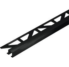 Profilé de finition Dural Squareline 11mm longueur 250cm aluminium mat noir-thumb-0