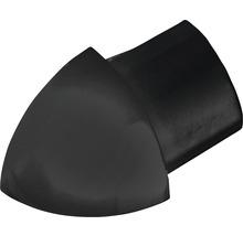 Angle extérieur Durondell aluminium anodisé mat noir Y 2 pièces-thumb-0